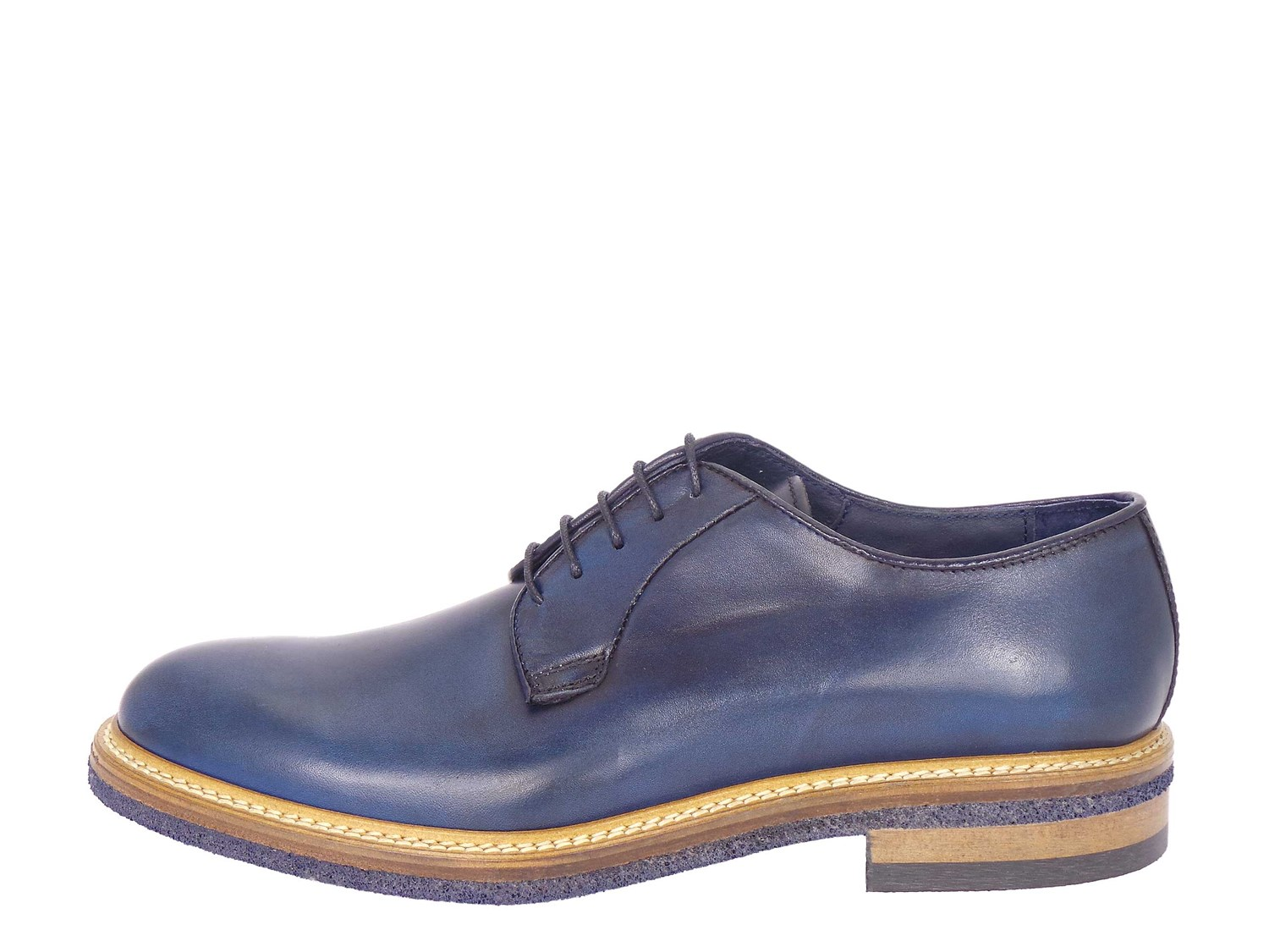 J.b.willis 850-16 Blue Shoes Man Francesina