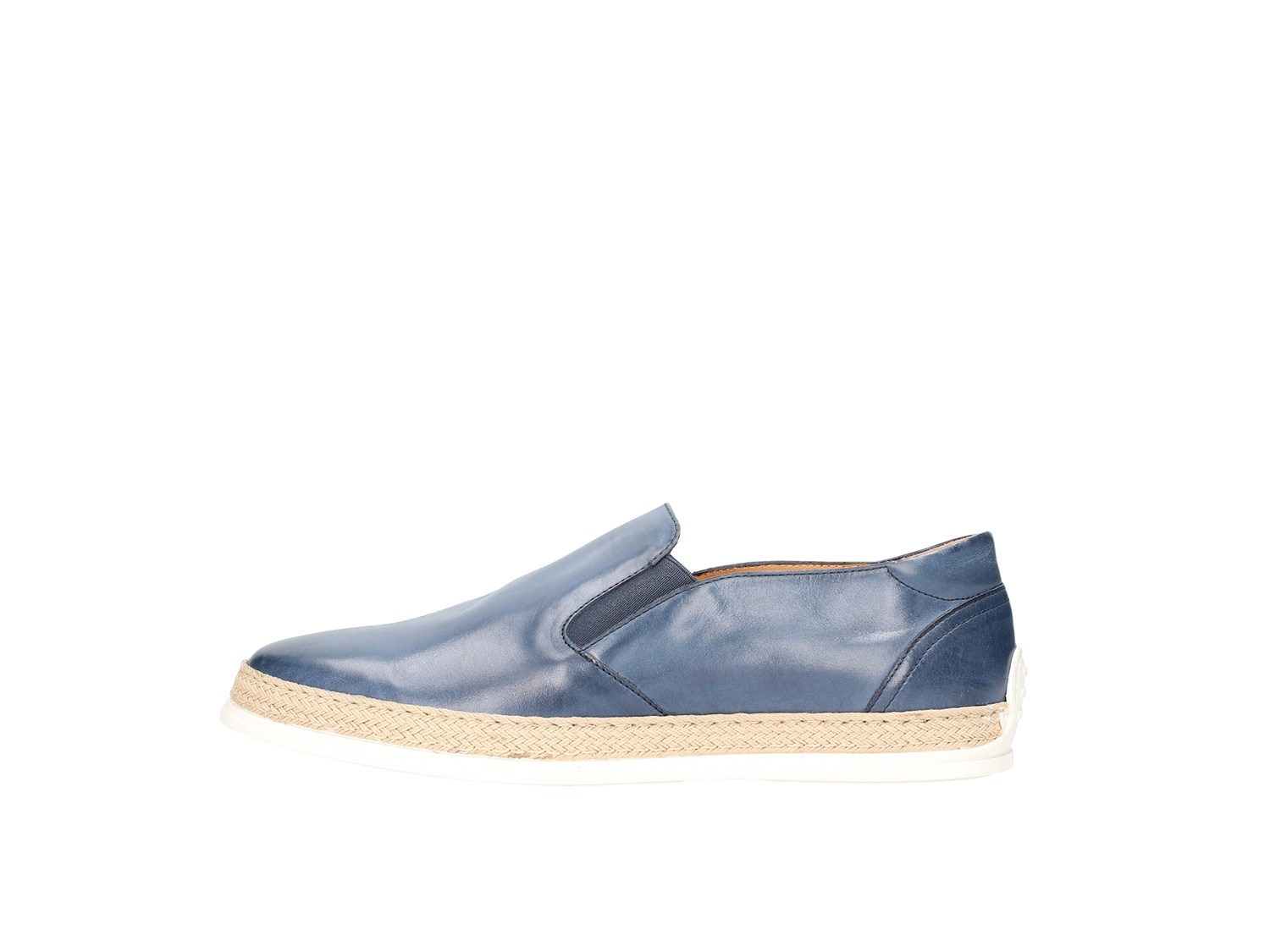 Triver Flight 997-01 Blue Shoes Man Slip-on