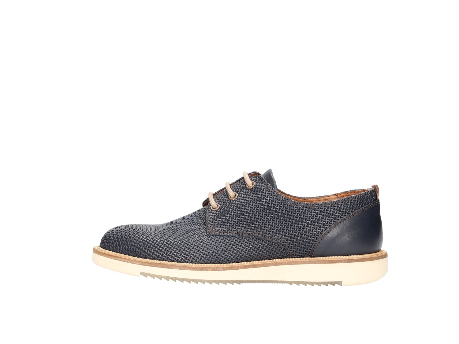 Marco Ferretti 111935mf Blue Shoes Man Francesina
