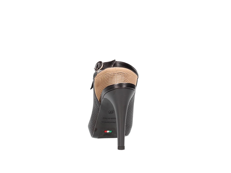 P717373de Giardini Primavera estate Nero Donna Sandalo 5cR34AjqL