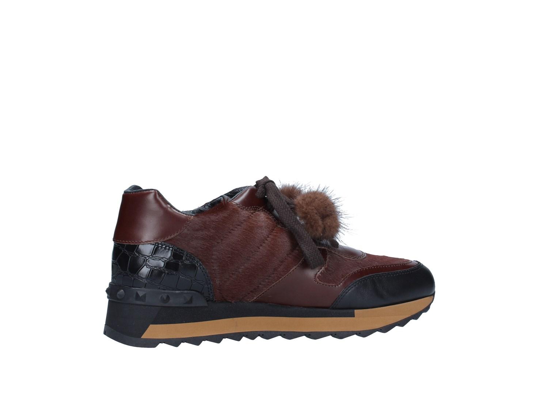 Triver Autunno Flight 198-05b negro marrón zapatillas mujer Autunno Triver Inverno 5c65e5