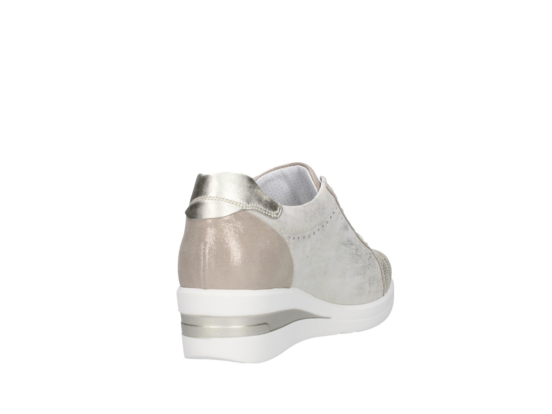 Mujer Primavera Verano platino P805063d beige deporte Zapatillas Giardini de Nero en 80fwzwva