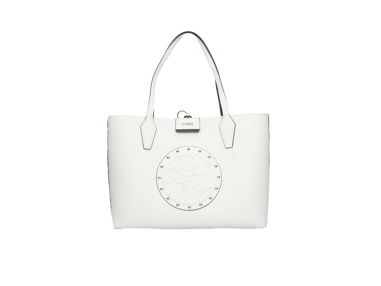Guess Lc642215 Bianco/nero Accessori Donna Borsa