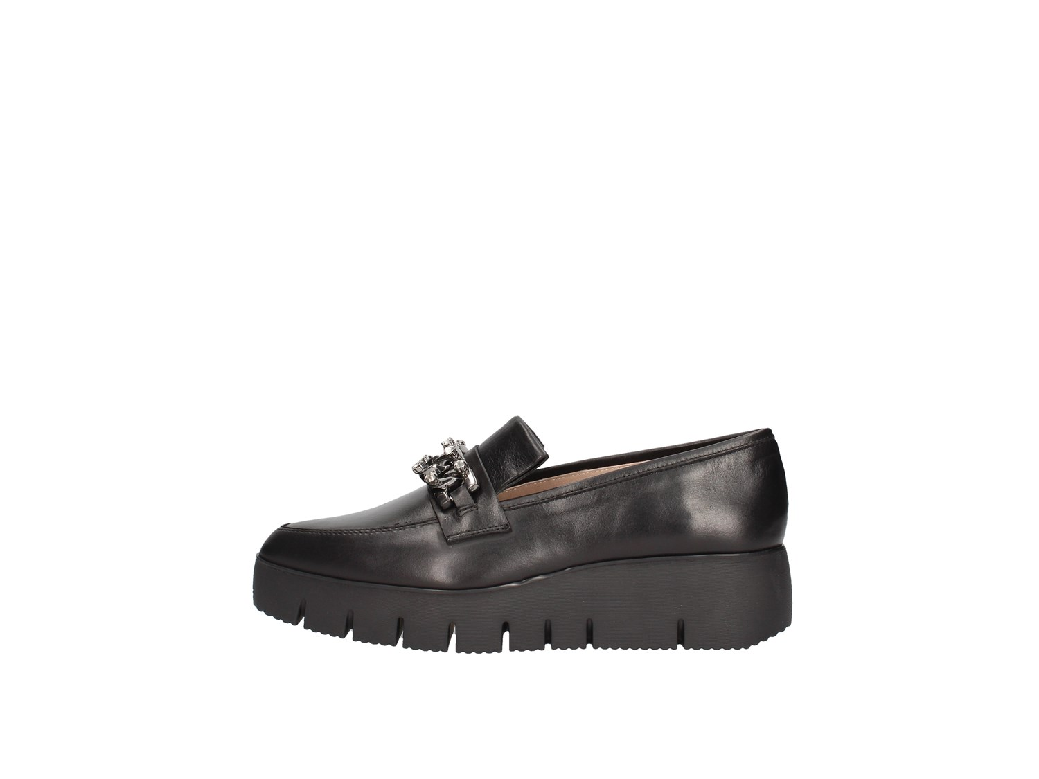 Unisa Chirla Black Shoes Women Moccasin