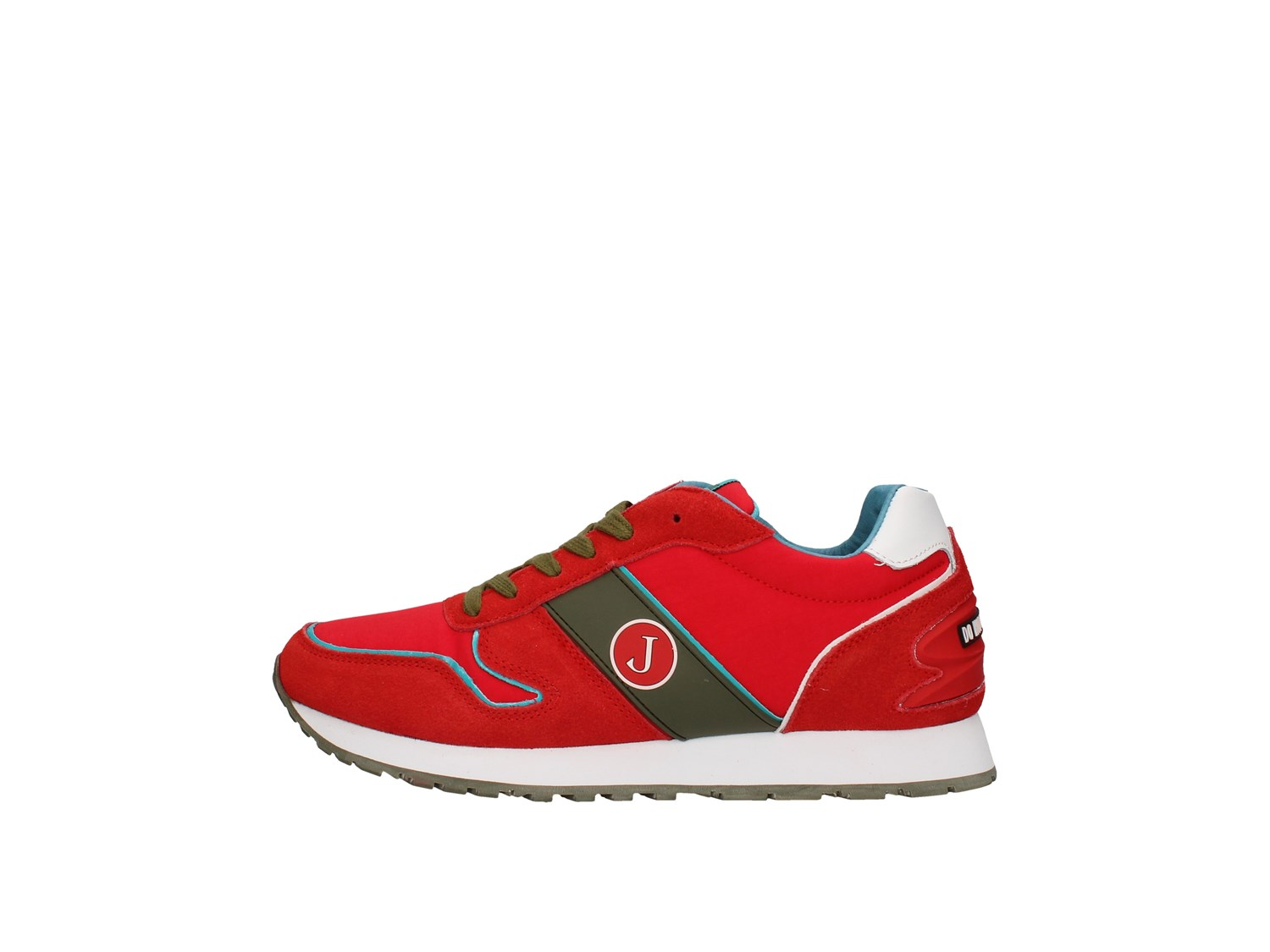 Jeckerson Jgpu041 Red Shoes Man Sneakers