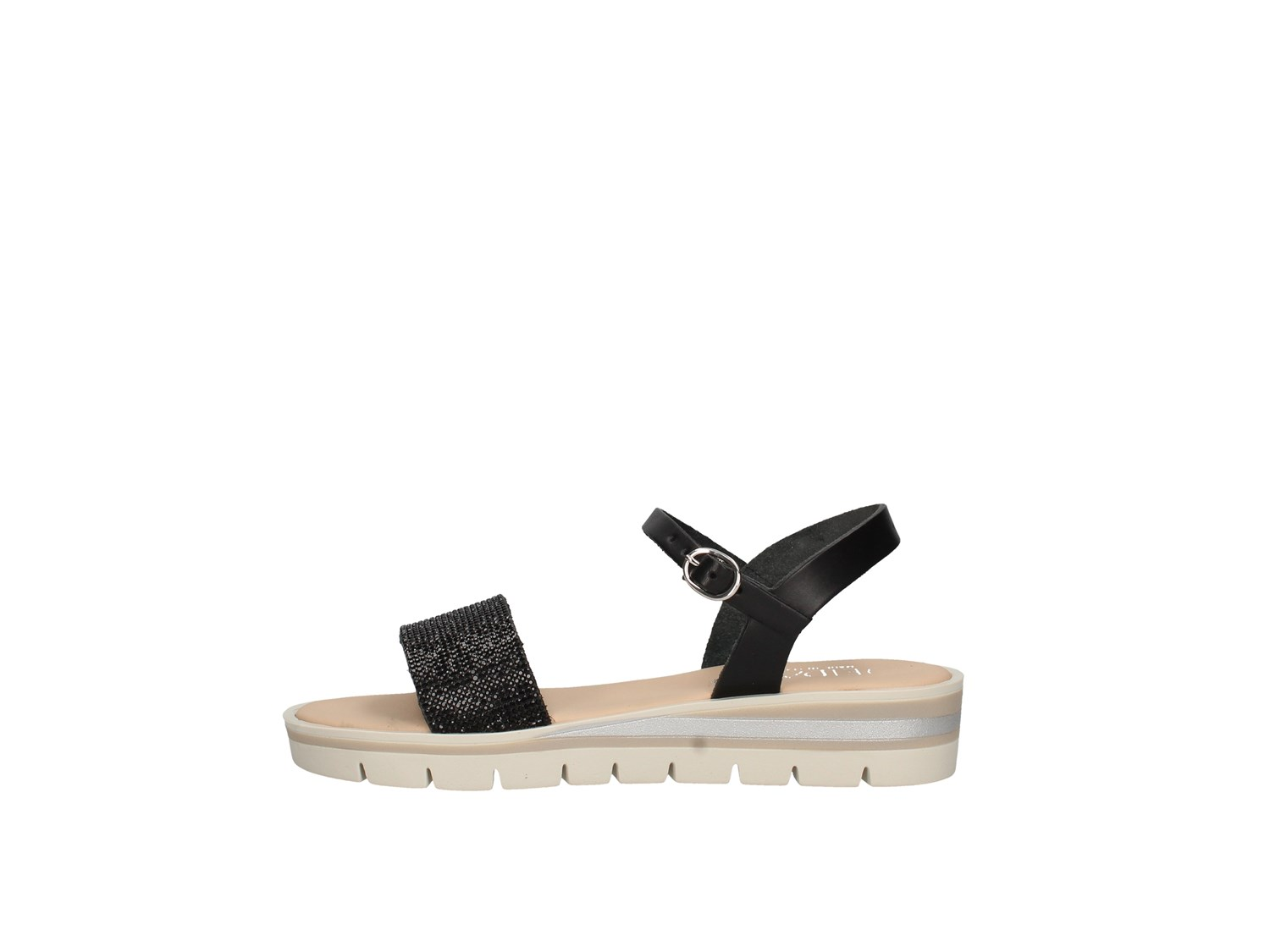 Jeiday Maratea Black Shoes Women Sandal