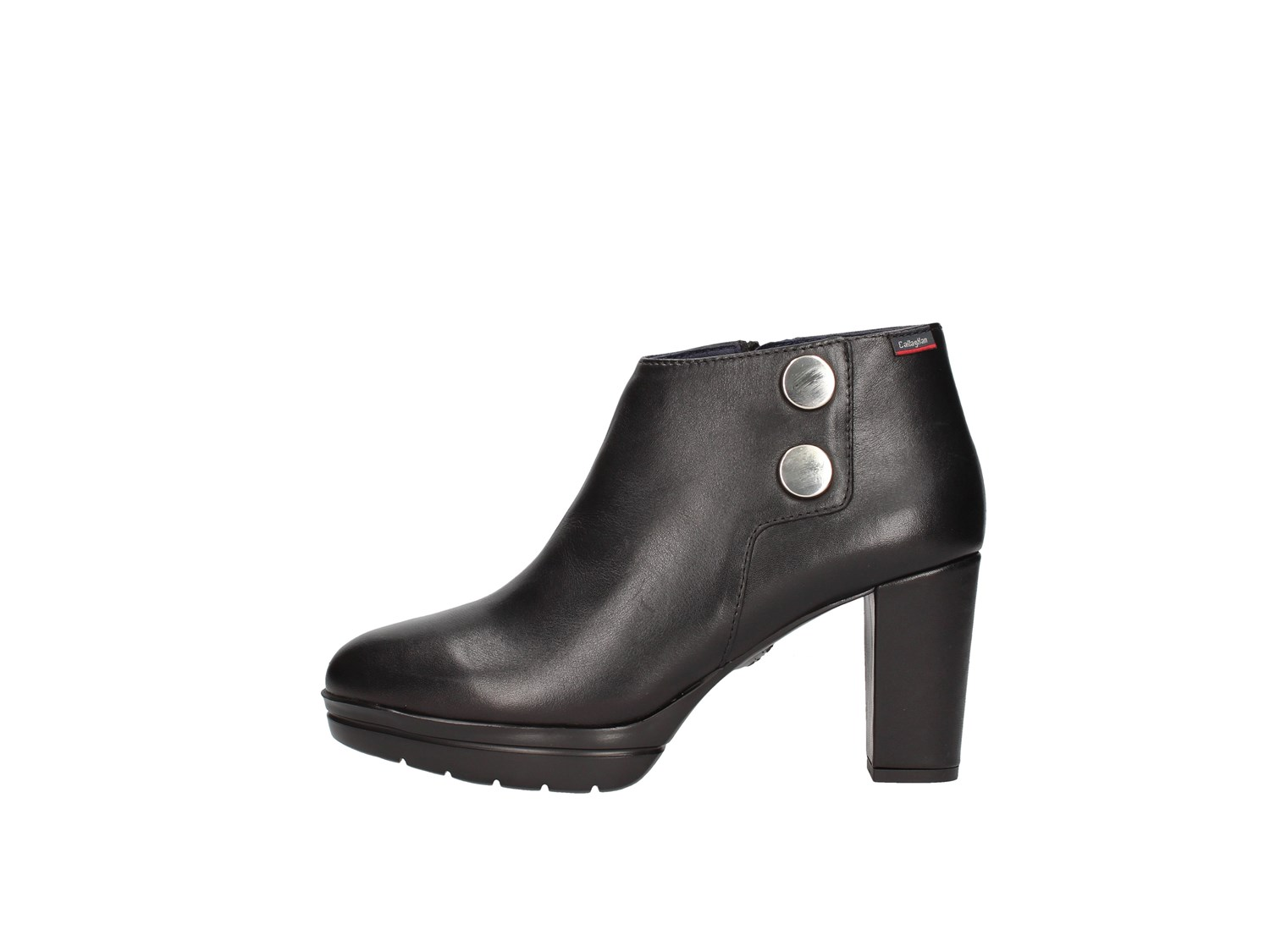 Callaghan 23703 Black Shoes Women Tronchetto