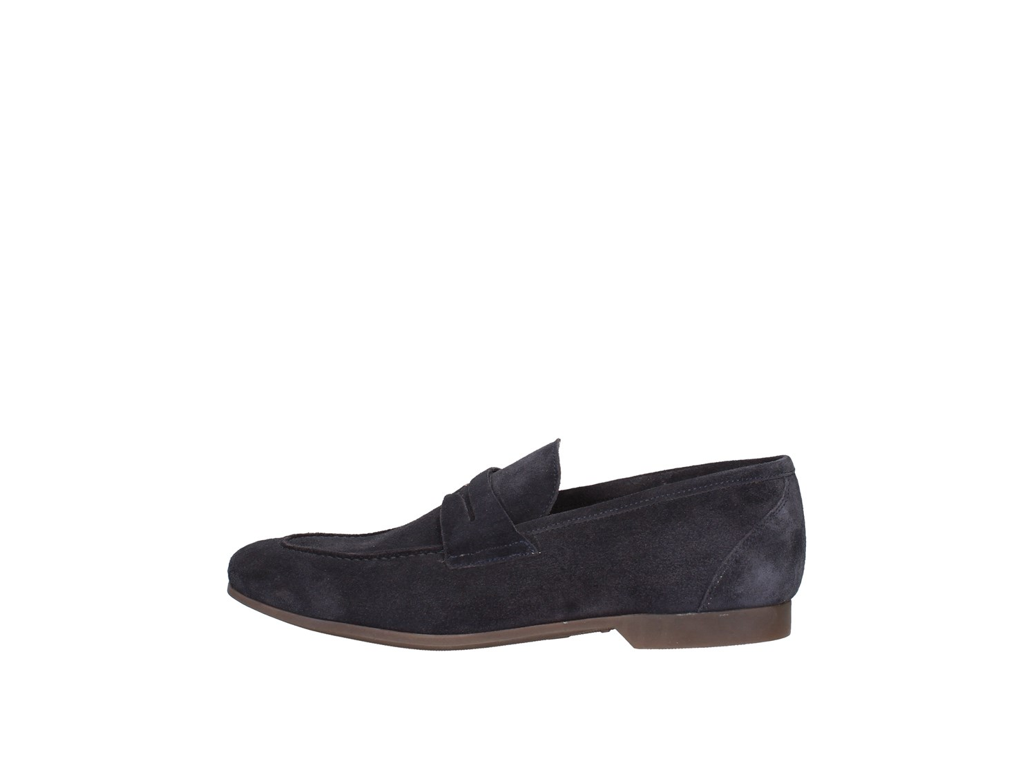 J.b.willis Car01 Blue Shoes Man Moccasin