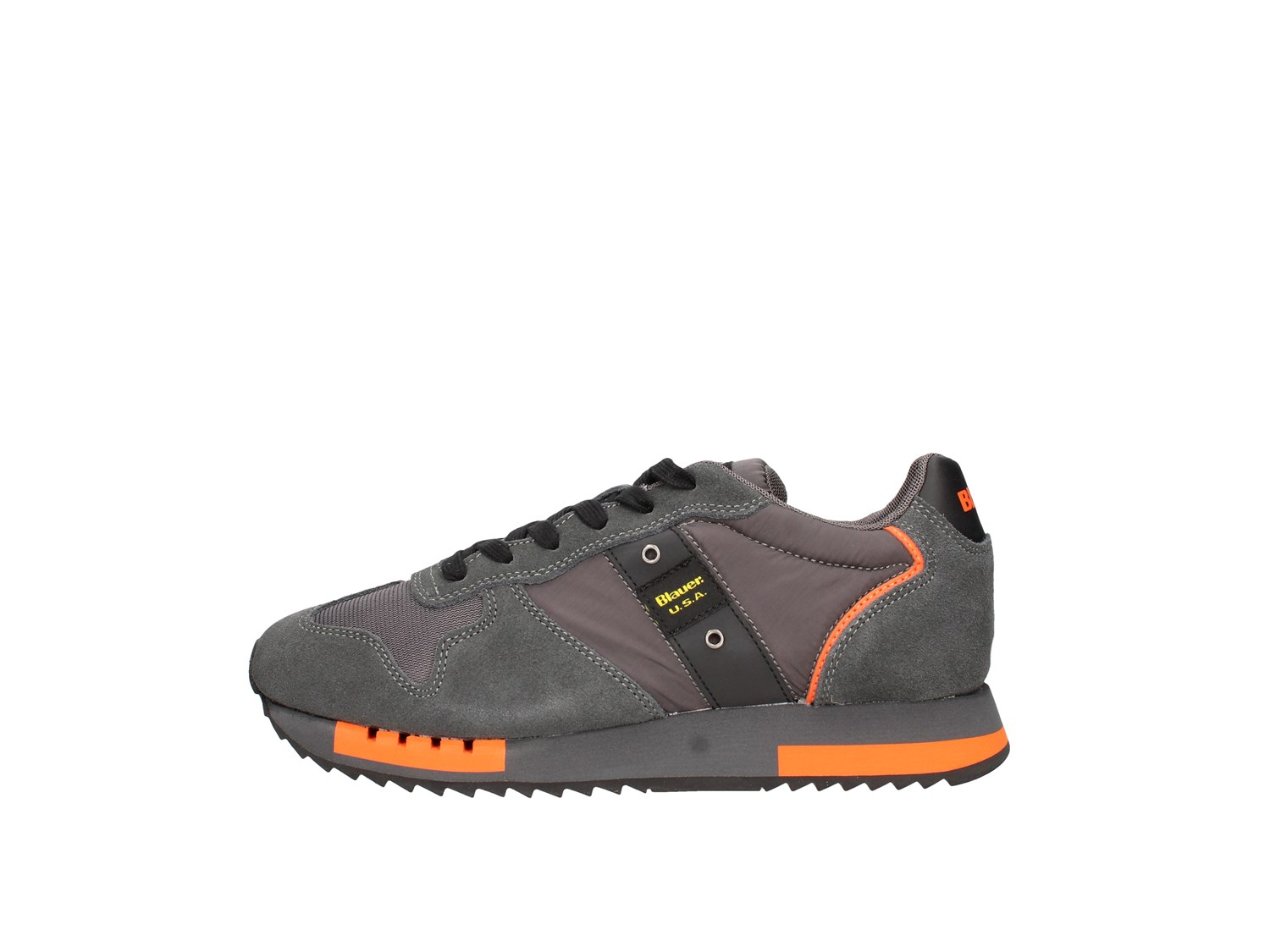 Blauer. U.s.a. F0queens01/mes Grey Shoes Man Sneakers