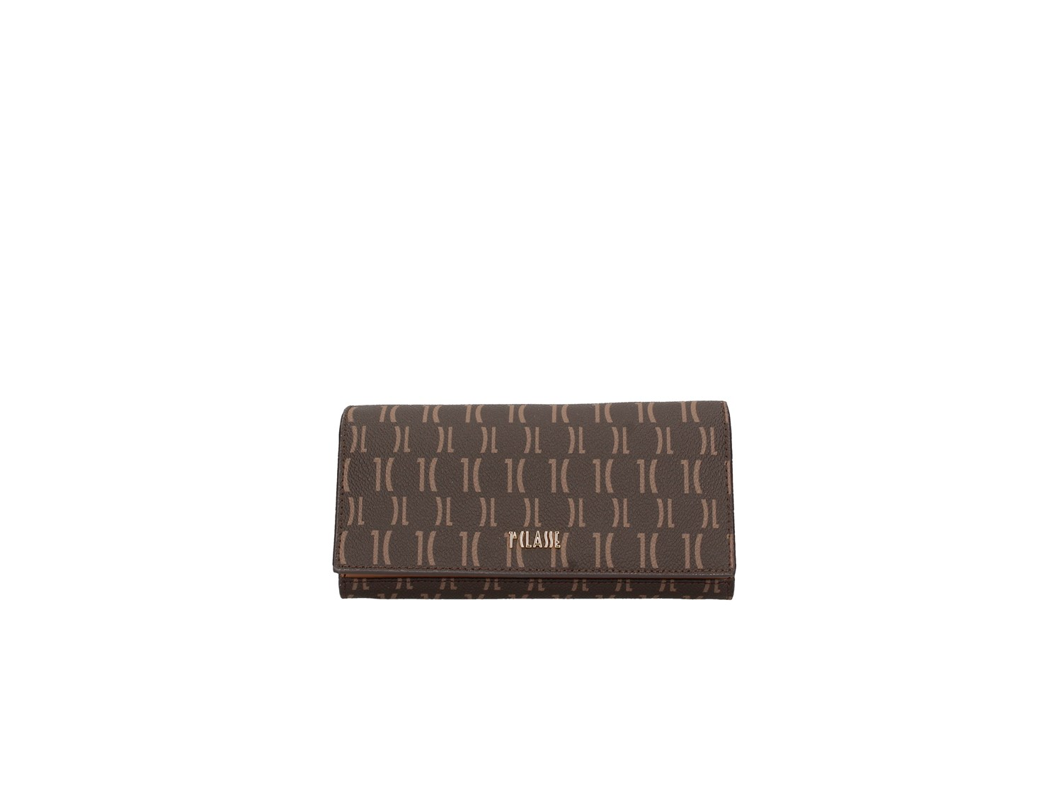 1a Classe Alviero Martini W066 9614 Dark Brown Monogram Accessories Women Wallet