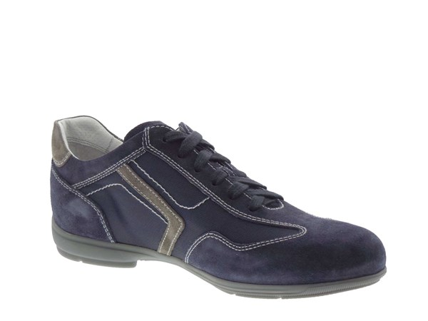 Nero Giardini 3990 Blue Shoes Man Sneakers