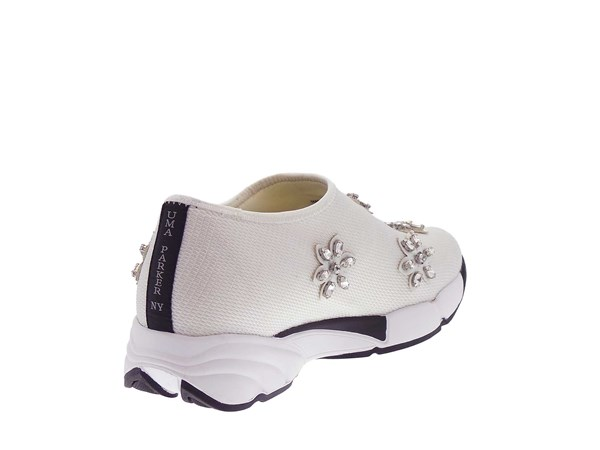Uma Parker 708/5 White Shoes Women Slip-on