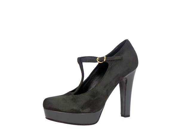 Silvana 5029 Anthracite Shoes Women Heels'