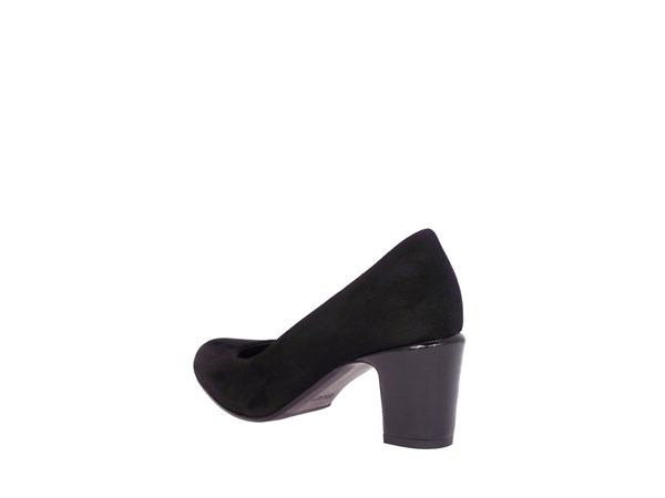 Silvana 5050 Black Shoes Women Heels'
