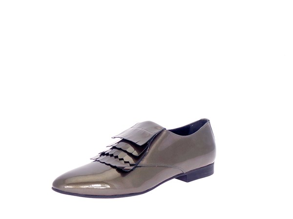 Frau 90k0 Grey Shoes Women Moccasin