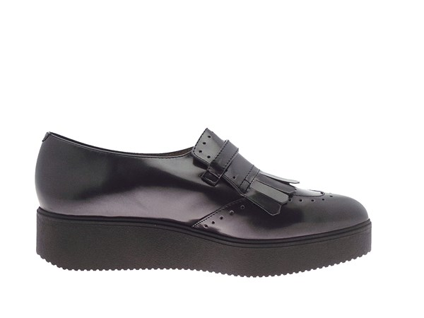 Unisa Clase Black Shoes Women Francesina