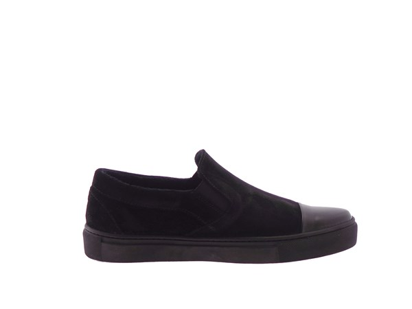 Frau 39b0 Black Shoes Women Slip-on