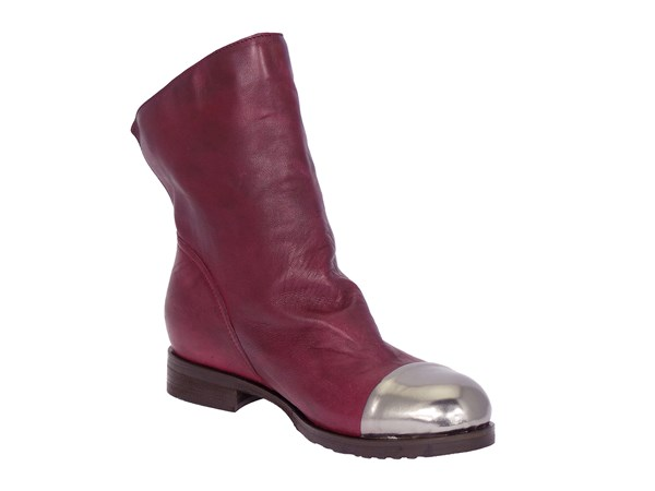 Looking Scacco02 Bordeaux Shoes Women Tronchetto