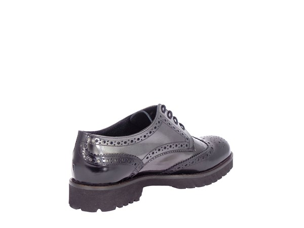 Vsl 5213/i254 Black and Gray Shoes Women Francesina