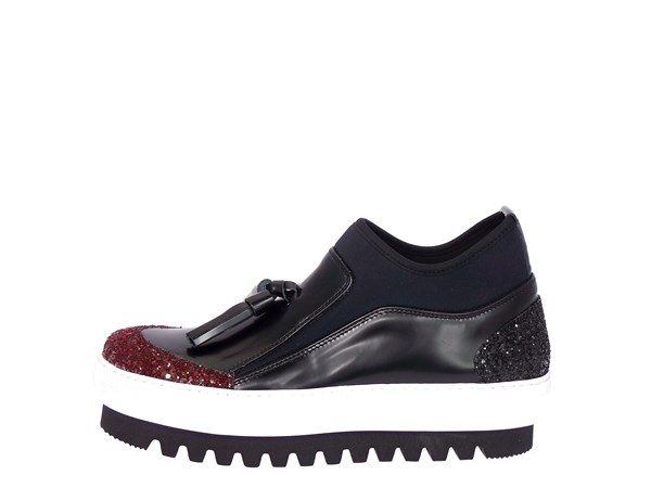 Emporio Di Parma 754 Bordeaux Shoes Women Slip-on