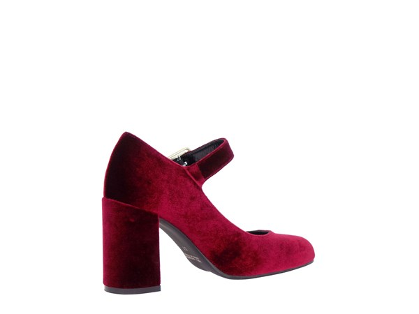 Noa 7090 Bordeaux Shoes Women Heels'