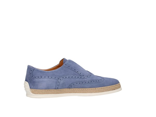 Triver Flight 997-05 Jeans Shoes Man Slip-on