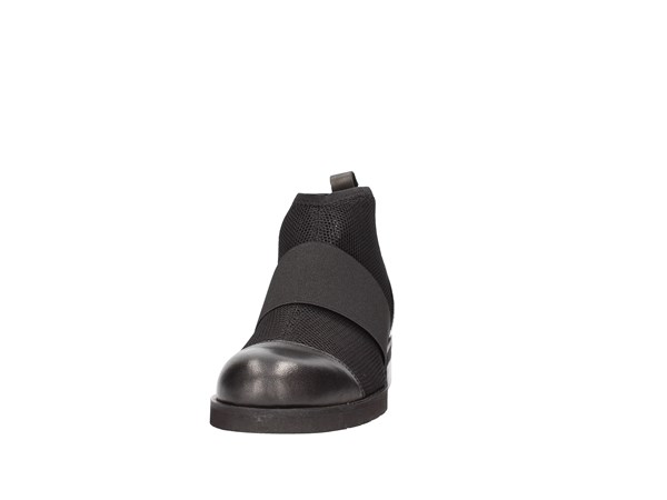 Francesco Minichino 1330 Black Shoes Women Tronchetto