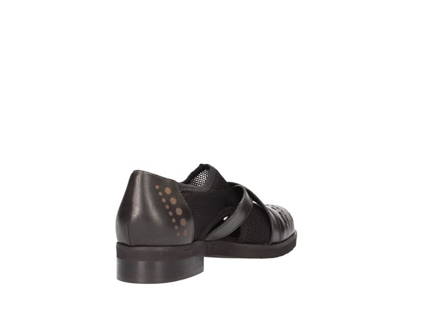 Francesco Minichino 1820 Black Shoes Women Francesina