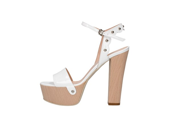 Emporio Di Parma 820 White Shoes Women Sandal