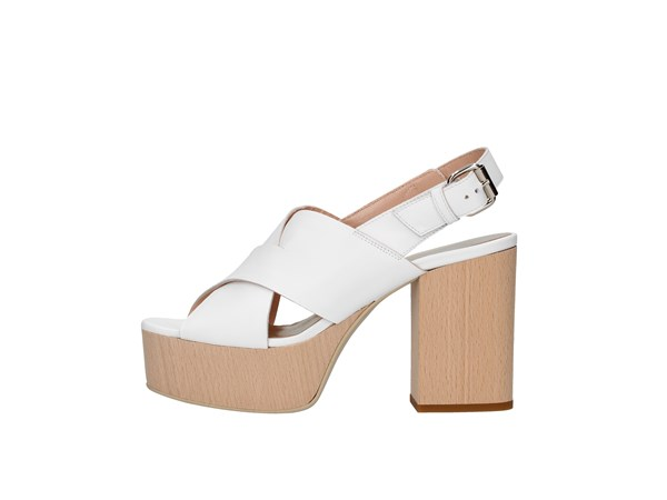 Emporio Di Parma 826 White Shoes Women Sandal