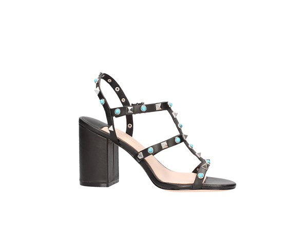 The Seller S5400 Black Shoes Women Sandal