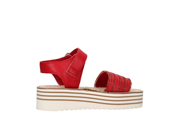 Zoe Cu50/07 Red Shoes Women Sandal