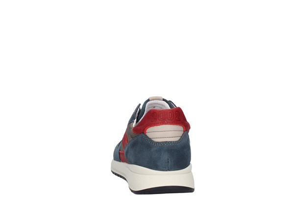 Igi&co 1120211 Blue / gray / red Shoes Man Sneakers