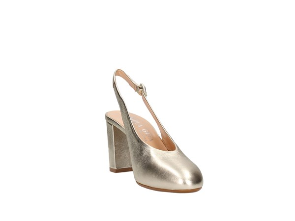 Paola Ghia 6334 Platinum Shoes Women Heels'