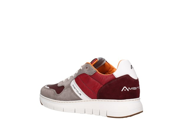 Ambitious 8283 Bordeaux Shoes Man Sneakers