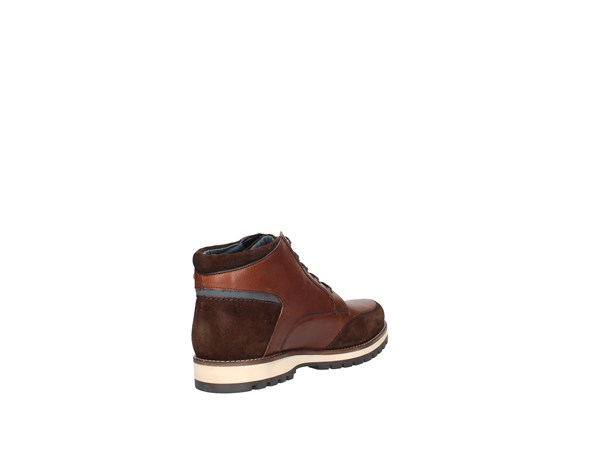 Lumberjack Sm33503-002-q72 Brown Shoes Man Shoe ankle
