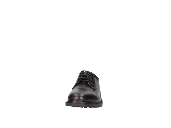 Soldini 20755-b-v68 Black Shoes Man Lace-up-heels