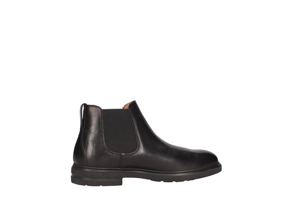 Soldini 20342-b-v26 Black Shoes Man Boot