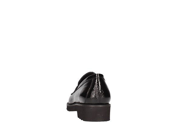 Paola Ghia 7222 Black Shoes Women Moccasin