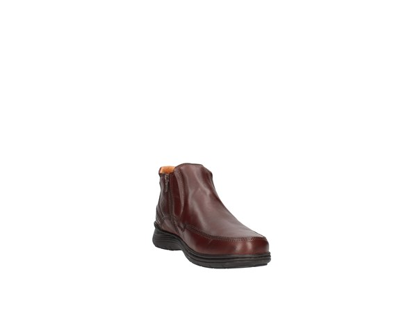 Valleverde 20878 Dark Brown Shoes Man Ankle Boots