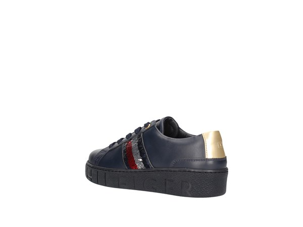 Tommy Hilfiger Fw0fw03704 Blue Shoes Women Sneakers