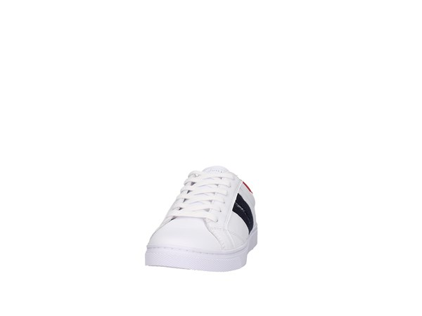 Tommy Hilfiger Fw0fw03996 Bianco Scarpe Donna Sneakers