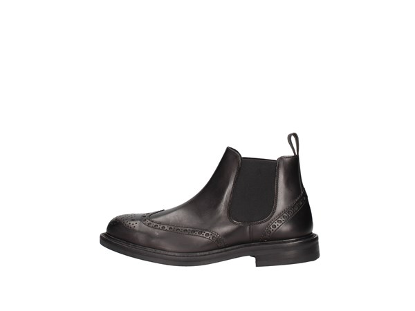 Soldini 20618-b-v68 Black Shoes Man Boots