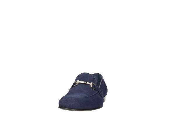J.b.willis 1024-3 Blue Shoes Man Moccasin