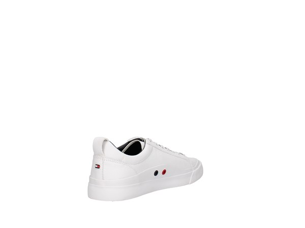 Tommy Hilfiger Fm0fm01712/100 White Shoes Man Sneakers