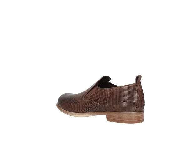 Soldini 20786-s-v83 Dark Brown Shoes Man Moccasin