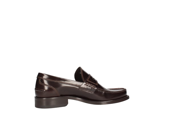 Soldini 14566-g-g04 Dark Brown Shoes Man Moccasin