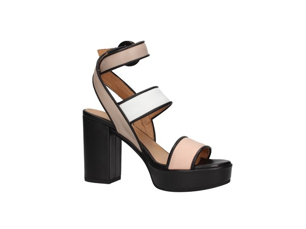 Janet Sport 43876 Black / nude / white Shoes Women Sandal