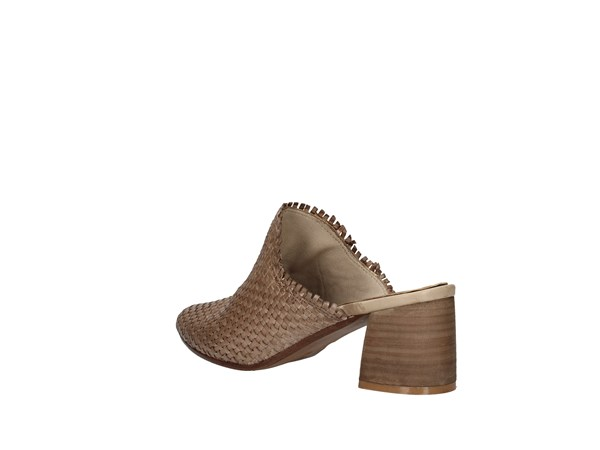 Zoe Lory037 Taupe Shoes Women Sabot