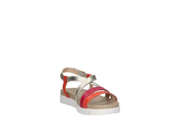 Nero Giardini P908312d Orange / fuchsia / platinum Shoes Women Sandal